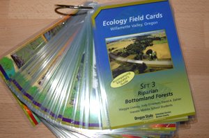 746Ecology Field Cards-Set 3, Riparian Bottomland Forests