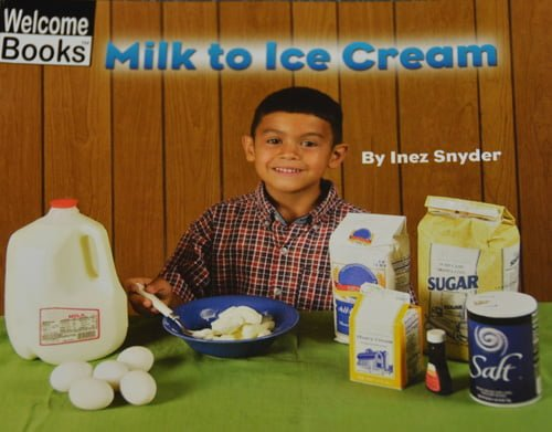 1223Milk to Ice Cream - Welcome Books