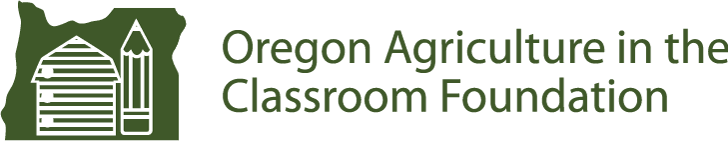 Oregon Agriculture in the Classroom Logo